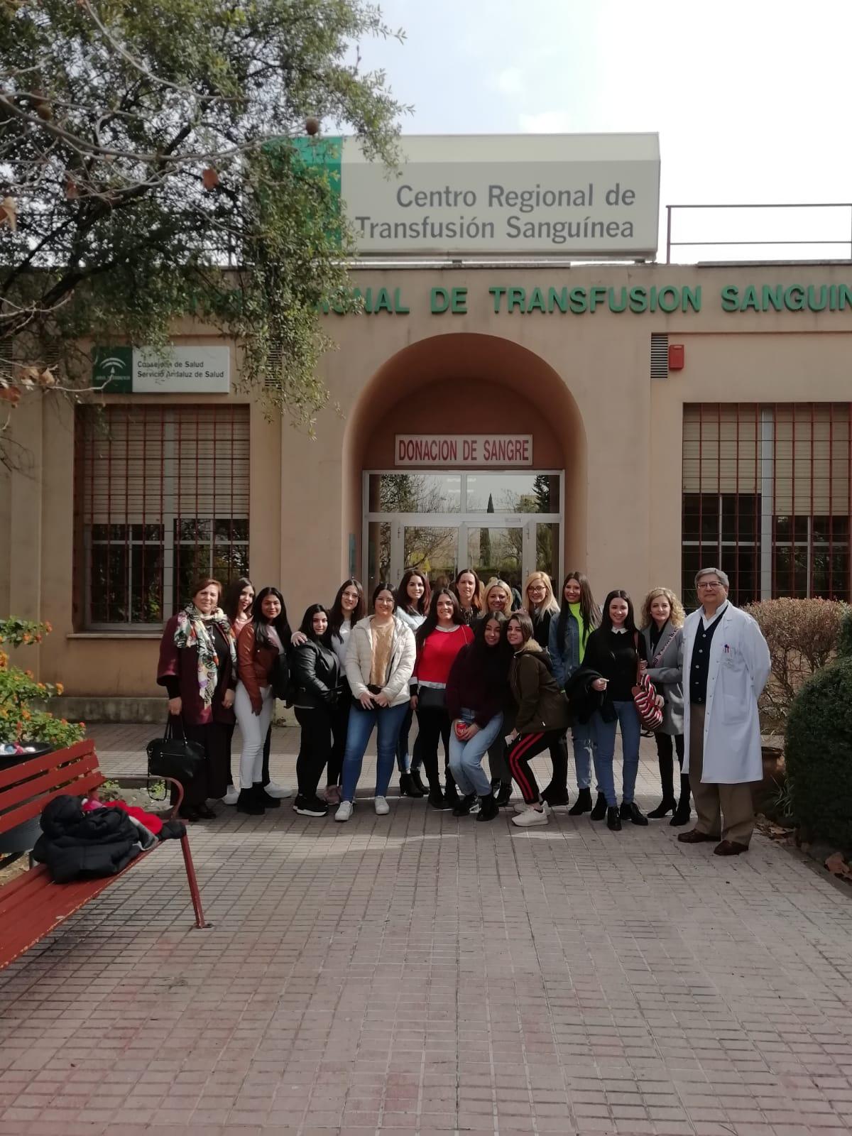 Visita al Centro de Transfusión Sanguínea